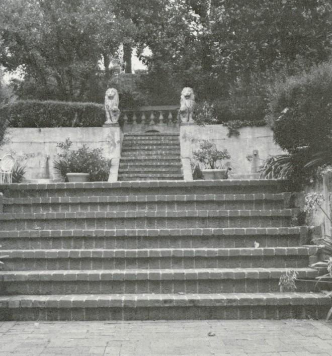 The Lion Terrace.
