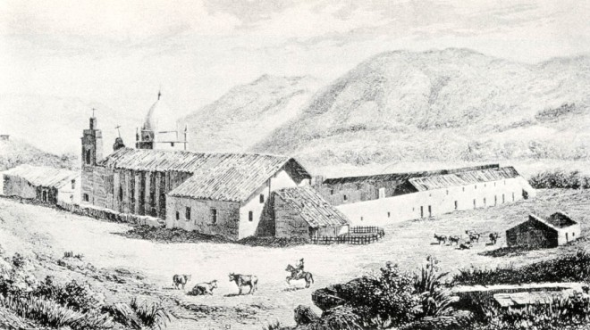 Mission San Carlos, 1839