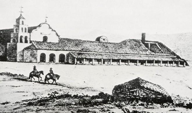 Mission San Diego, 1846