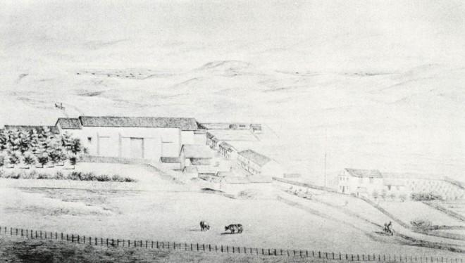 Mission San José, 1856