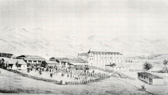 Mission San Gabriel, 1856