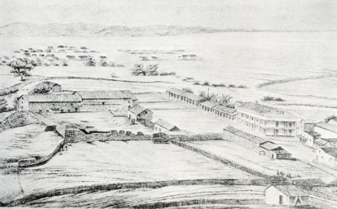 Mission Santa Cruz, 1856