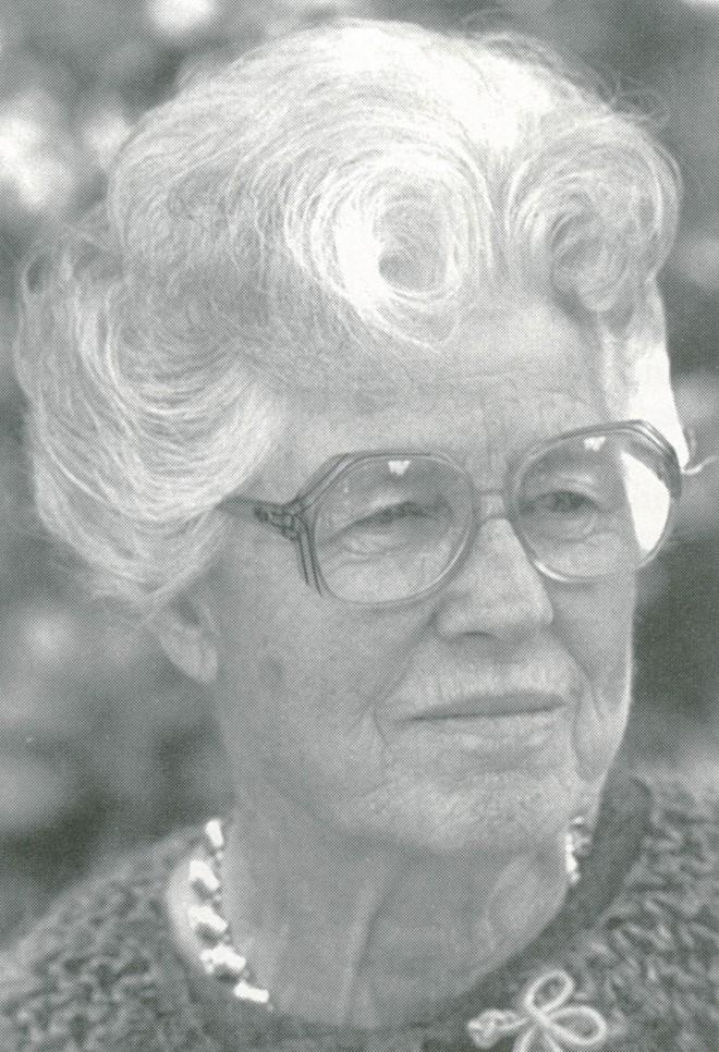 Marjorie Schmidt. Author's photograph