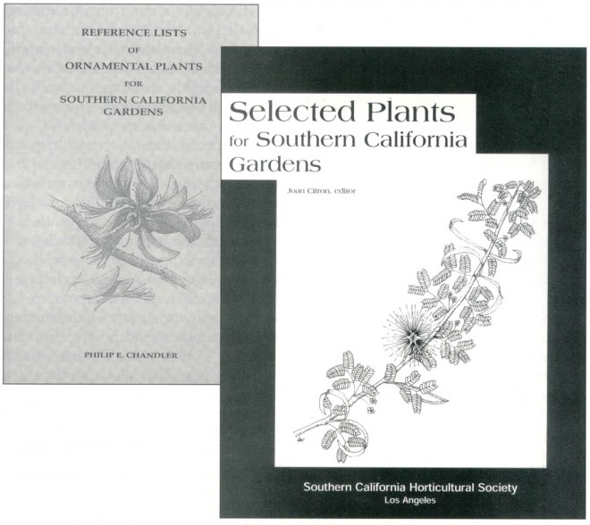 Two recent publications of the Southern California Horticultural Society