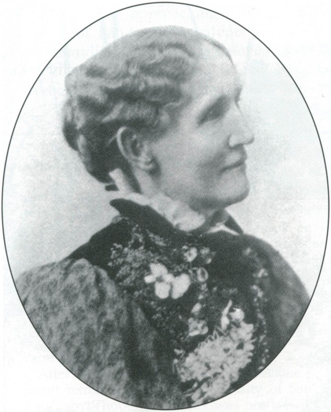 Theodosia Burr Shepherd, taken before 1900. Photocopied from her 1900 catalog,  courtesy of the Regents of the University of California