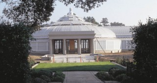 The main entry to the Rose Hills Foundation Conservatory at the Huntington Botanical Gardens. Author's photographs, except as noted