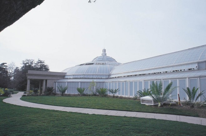 … provided the model for the new, glass and steel Rose Hills Foundation Conservatory, due to open to the public early in 2005