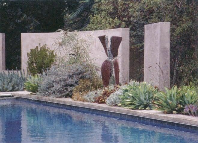 Palo Alto garden by Bernard Trainor