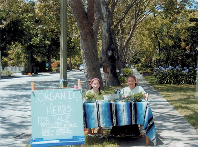 Palo Alto's commitment to its gardens is far reaching and starts young. Instead of lemonade stands, children peddle their herbs. Author's photographs, except as noted