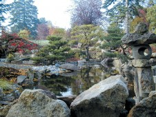 The Seike Japanese Garden in its new home at the Highline SeaTac Botanical Garden