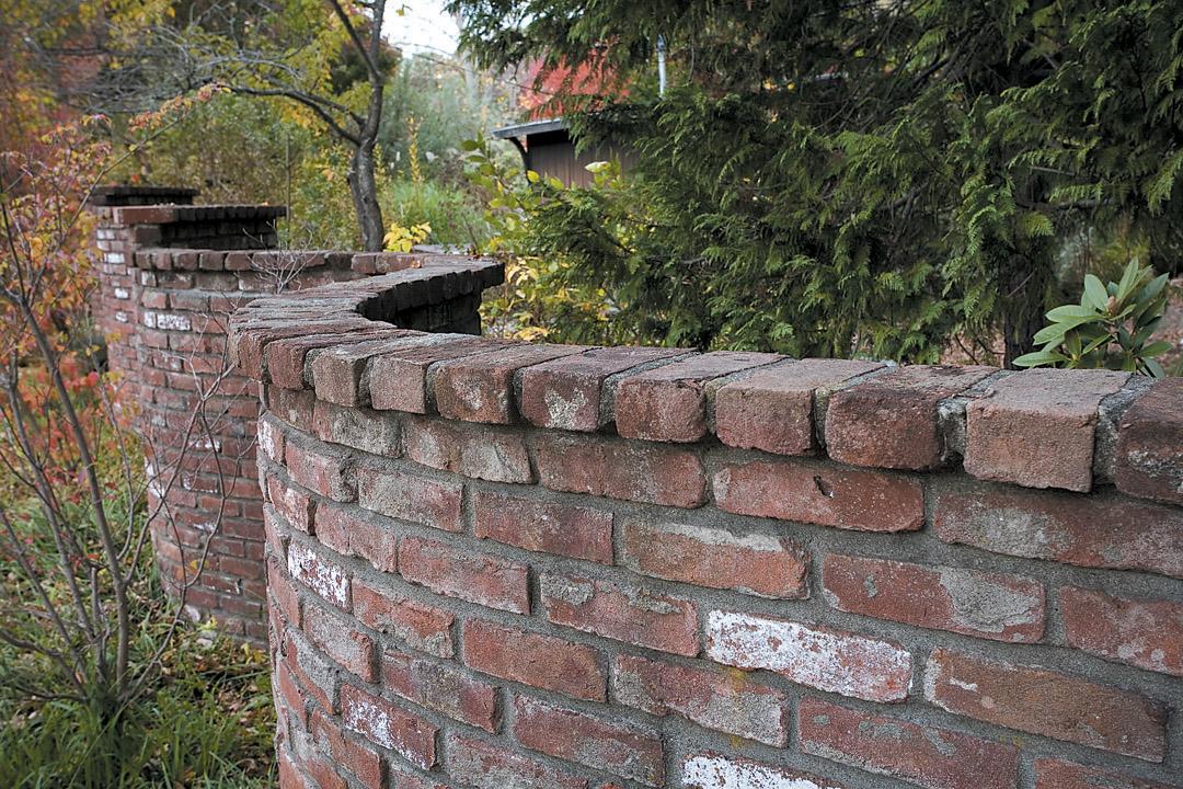 Brick Garden Wall josaelcom