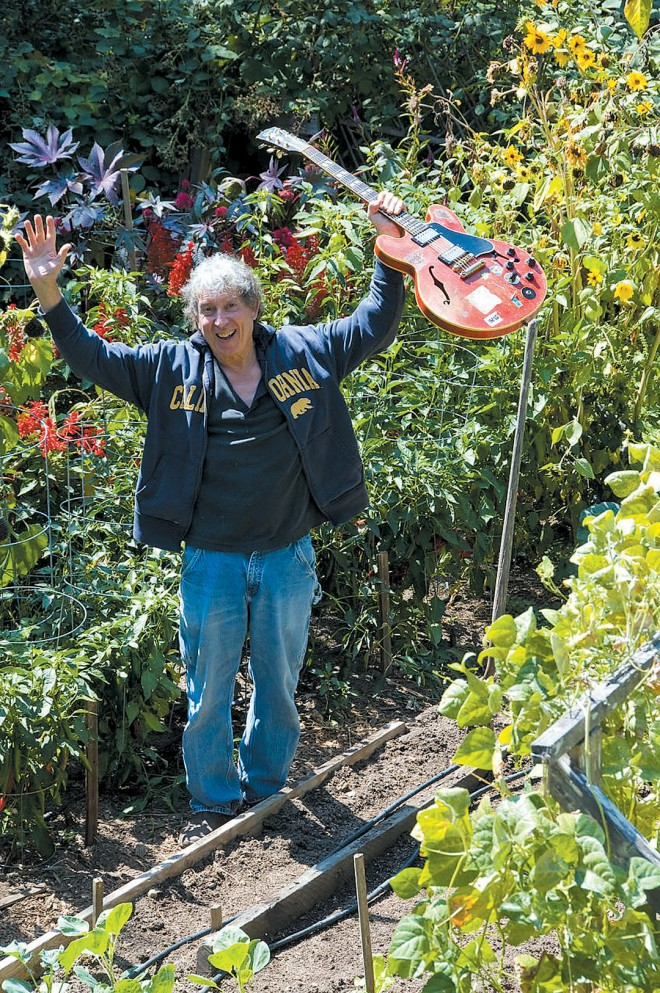 Elvin Bishop celebrating music and gardening