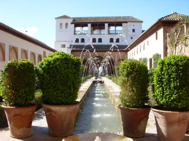 View of Patio de la Acequia. Photo: Christina Edstrom O'Hara
