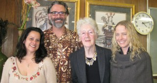 From left: Toni Torres, Zann Cannon Goff, Judith Taylor, Sandy Jungwirth