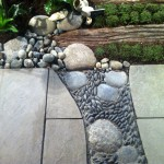 ...and hardscape detailing seen in the beach garden mentioned above.