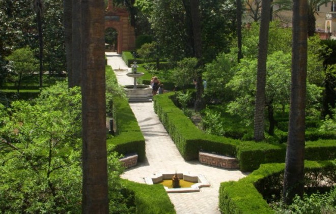Garden in Sevilla. Photo: Cristi Walden