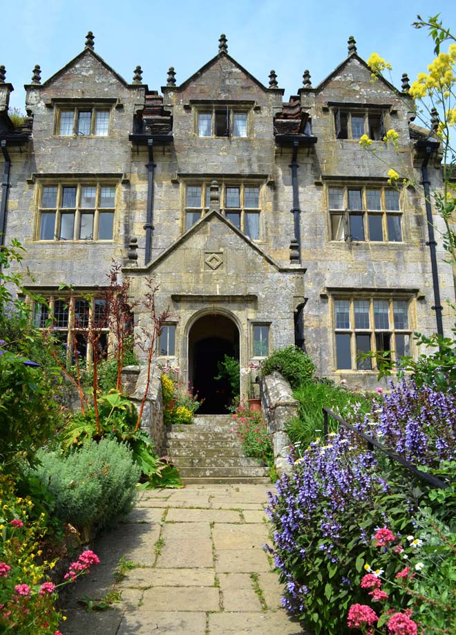 The original enterance to Gravetye Manor as it appears today. Photo: Nancy Carol Carter