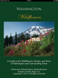 Washington Wildflowers garden app