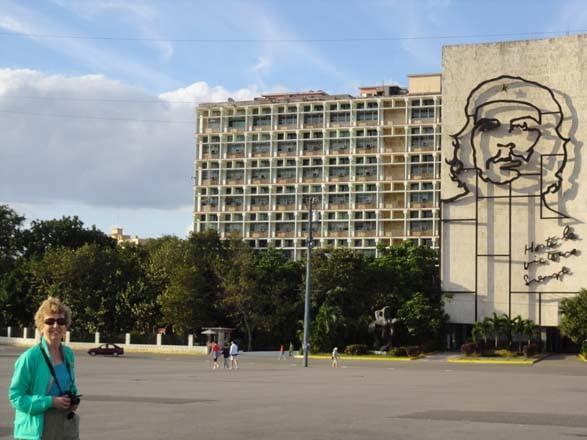 Revolution Square  Havana, Cuba. Photo: Greg Graves