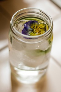 Don't overlook refreshing iced garden teas during the heat of summer. Photo: Jennifer Lee Segale.