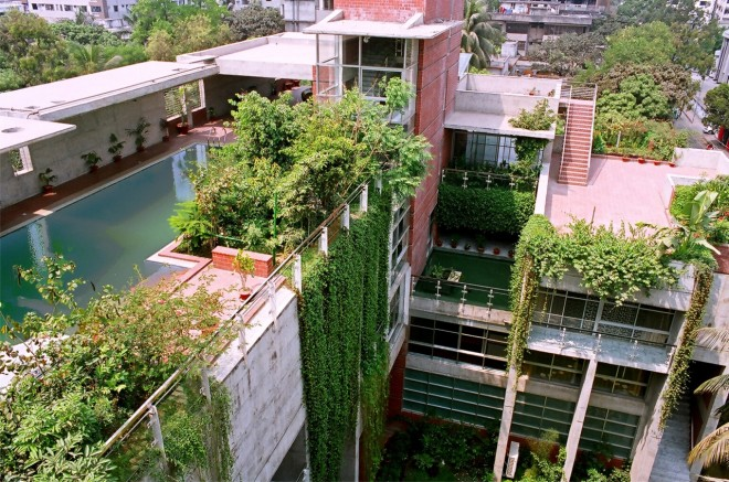 Shatotto Architecture for Green Living, Dhaka Residence design by Shatotto