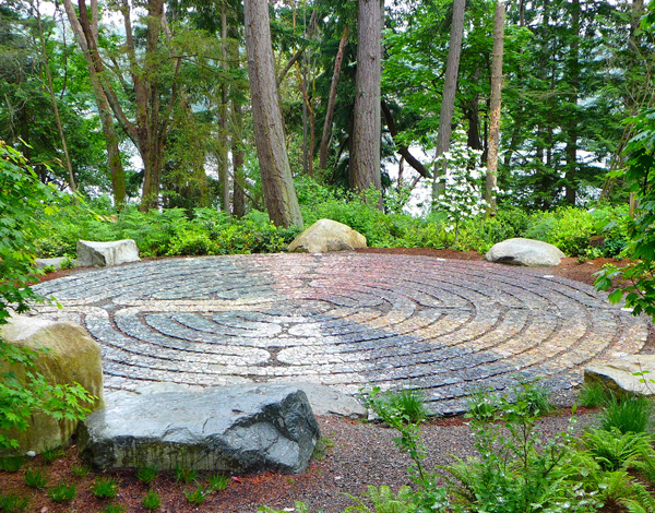 Labyrinth, 2014. Jeffrey Bale  Bainbridge Island, Washington