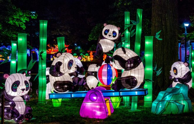 Magical Lantern Art Festival. Photo: courtesy LA County Arboretum