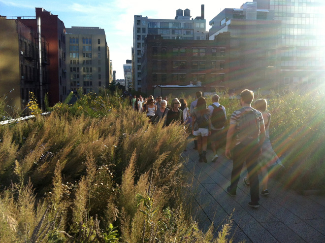 The High Line, NYC. Photo: Bob Hyland
