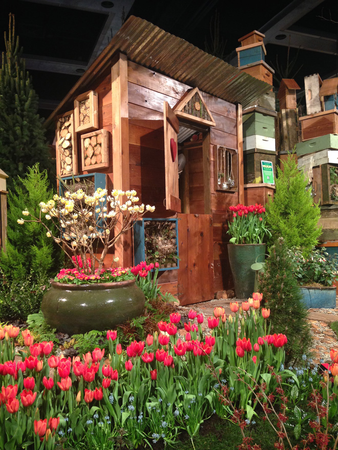 The Pacific Horticulture award winning garden at the 2015 Northwest Flower & Garden show created by the staff of West Seattle Nursery. Photo: Lorene Edwards Forkner
