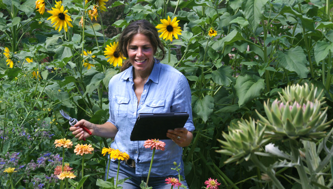 Each online class is taught by a different expert, delivered through engaging video segments.  Photo: courtesy of Garden Tribe