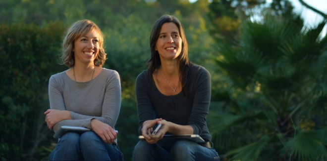 Left to right: Jen Long and Beth LaDove are the founding creatives behind Garden Tribe.  Photo: Rich Dahlgren