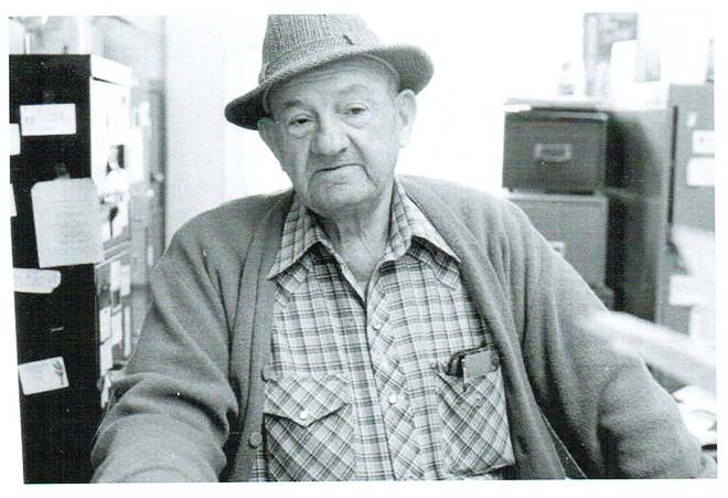 The late Ray Williams, creator of the Gavilan College landscape.  Photo: Gavilan College archives