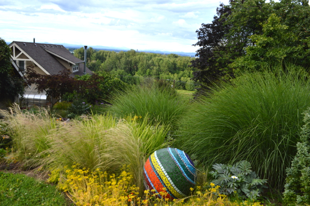 Harborton Hill, the exuberant, plant-driven landscape surrounding the home of Bob Hyland and Andrew Beckman. Photo: Bob Hyland