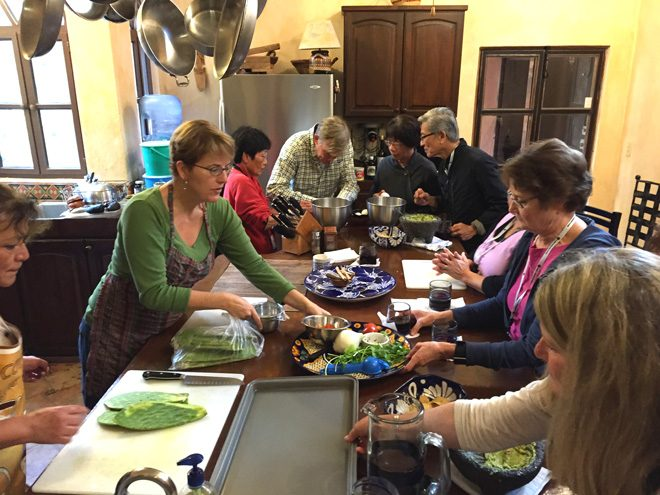 Hands-on cooking class with cookbook author and restaurateur Kris Rudolph.
